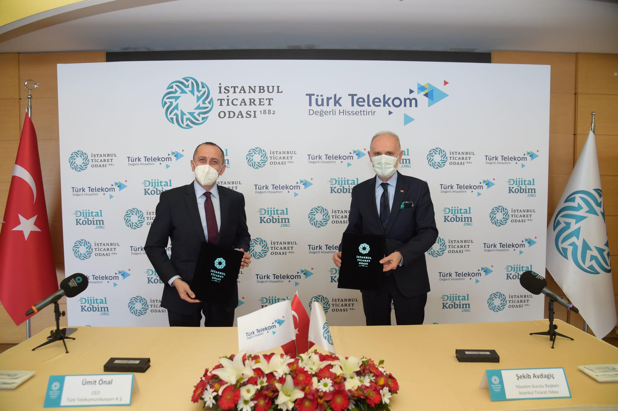 İTO ve Türk Telekom'dan KOBİ'ler için Dijitalleşme İş Birliği
